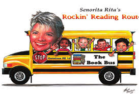 This is the image for the news article titled Book Bus Stories